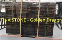 Golden Dragon Marble Stone Flooring Tiles Wall