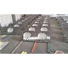Grey Diamond Granite Kitchen Countertops