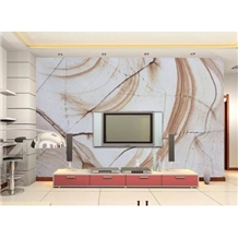 Imported White Color Roman Quartzite Tile Slabs
