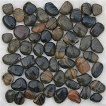 Mixed River Walkway Pebble Stone Multicolor
