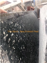 New Emerald Pearl Granite Stone Green Slabs Floor