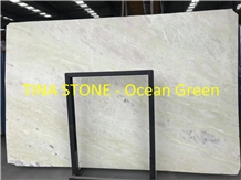 Ocean Green Marble Wave Wall Tiles Floor Covering