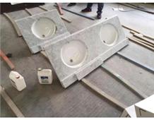 White Marble Snowy Carrara Kitchen Countertops