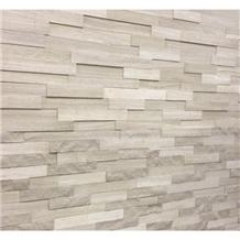 White Sandalwood Marble Mosaic Decoration