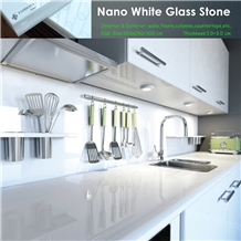 Nano White Marble,Kitchen Countertops