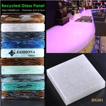 Translucent Special Recycled Glass Panel