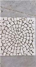European Style Irregular Tumble Marble Mosaic