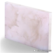 Backlit Stone Price for Interior Curve Wall Panel