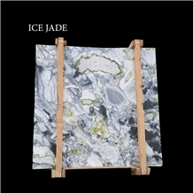 Ice Jade, Green, Grey and White Marble Slabs