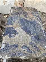 Brazil Sodalite Blue Granite Slab Tile in China