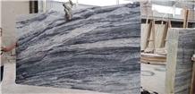 China Abba Grey Marble Yabo Van Gogh Slab