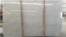 China Milano Light Grey Marble Slab Walling Tile