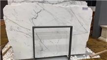 Italy Blanco Carrara Statuario White Marble Slab