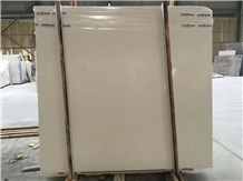 Sandy White Limestone Finike Beige Slab Wall Tile