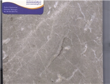 Sania Grey Marble Tiles, Slabs