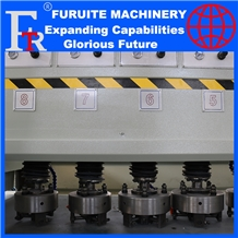 Litchi Polishing Machine 8 Head Stone Equipments