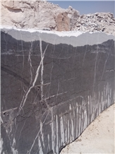 A Grade Pietra Gray Marble Quarry Blocks from Iran