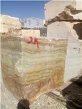 Bursa Green Onyx Quarry Blocks