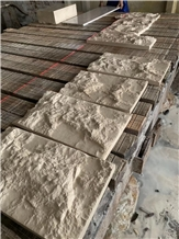 Gohara Beige Limestone Tiles Split Face Exterior Wall Stone Building