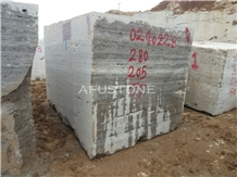 Persian Silver Travertine Quarry Blocks