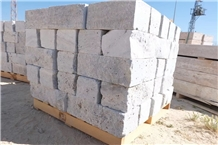 Silver Grey Travrtine Wall Stone Garden Exterior