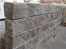 Splited Travertine Wall Stone Ledge Cladding