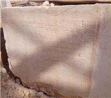 Super White Travertine Blocks