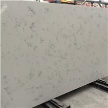 China New Quartz Stone Wall Installation