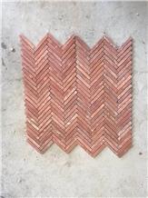 Marble Mosaic Stone Veneer Wall Dector