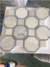 Natural Stone Mosaic Tile for Kitchen Floor