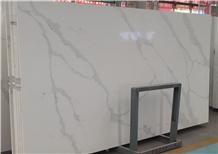 Quartz White Calaeatta Stone Slab for Wall