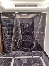 Nero Black Night Queen Marble Walling Tile