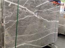 China Fior Di Bosco Marble Slab, Grey Marble Slab