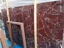 Rosso Levanto Marble Slab, Indo Levanto Marble