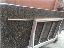 Finland Baltic Brown Granite Polished Tile