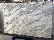 First Choice White Calacatta Gold Marble Slabs
