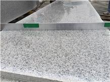 Natural China Bianco Argento White Granite Tiles