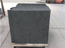Polished Angola Black Granite Slab(Low Price) Tile