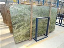 Rain Forest Green Marble Slabs & Tiles