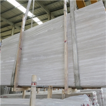 Wooden White Marble Slab &Tile for Floor and Wall