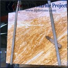 Dubai Gold Marble Slab for Sales