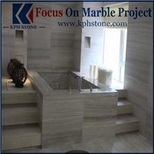 Grey Serpeggiante Marble Bathroom Tiles