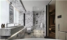 Majestic Neptune Marble Bathroom Vanity Tops