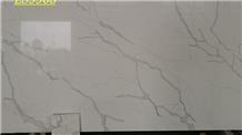 Carrara White Quartz,White Quartz Slabs