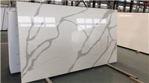 Engineered Stone Calacatta Quartz Stone Slabs
