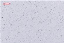 Sparkle White Artificial Quartz for Kitchen Countertop