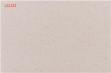 White Solid Surface Quartz Engineered Stone Slabs