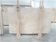 Classic Light Travertine Crosscut - Honed Filled