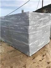Silver Gray Marble Blocks