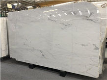 Beautiful Lincoln White Marble Slabs & Wall Tiles
